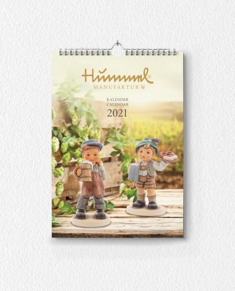 Hummel Wandkalender 2021