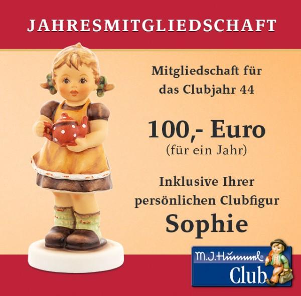 Sophie - Jahresmitgliedschaft Club 2020/2021