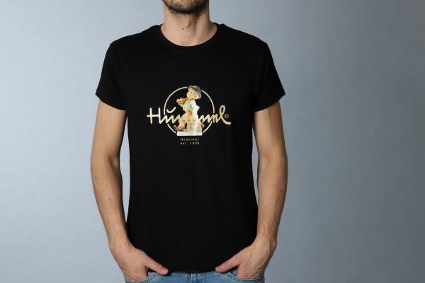 Hummel T-Shirt schwarz Herren Wanderbub