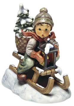 Fahrt in die Weihnacht