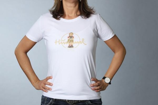 Hummel T-Shirt weiß Damen Gefundenes Glück
